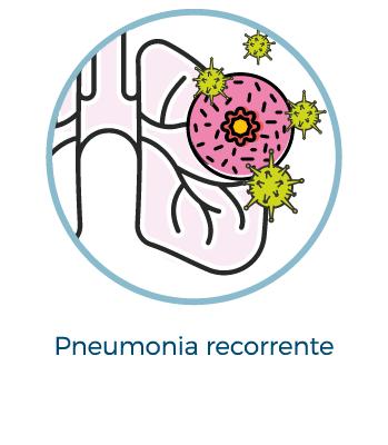 Pneumonia recorrente